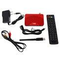 Profesional Tamaño Mini Receptor FTA DVB-S2 Iptv Combo Satélite de los estados Unidos de Alta Eficacia TV Box 1G DDR Flash 8 M