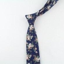 Tie Classic Men's Plaid Necktie Casual Sweet Flower Paisley Suit Bowknots Ties Male Cotton Skinny Slim Ties Colourful Cravat