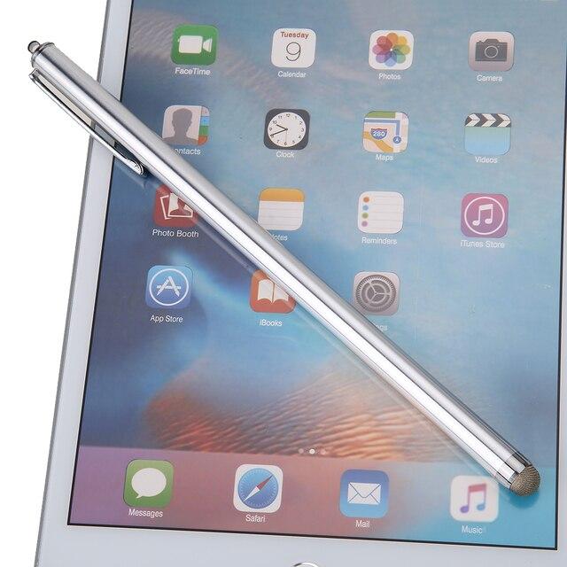 NOVA 1 pcs Universal Mini Metal Capacitive Touch Pen Stylus Para Tablet Telefone Laptop/Dispositivos de Tela de Toque Capacitivo