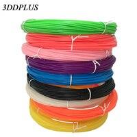 3 DDPLUS 20 kleur of 10/set 3D Pen Filament ABS/PLA 1.75mm Plastic Rubber Afdrukken materiaal Voor 3D Printer Pen Filament
