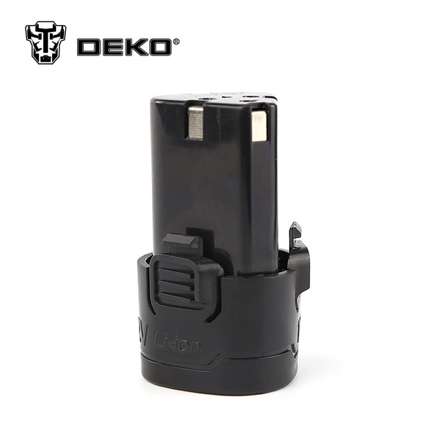 DEKO 12V Cordless Drill Lithium Battery Replacement Battery Applicable Drill Model LCG12VDU