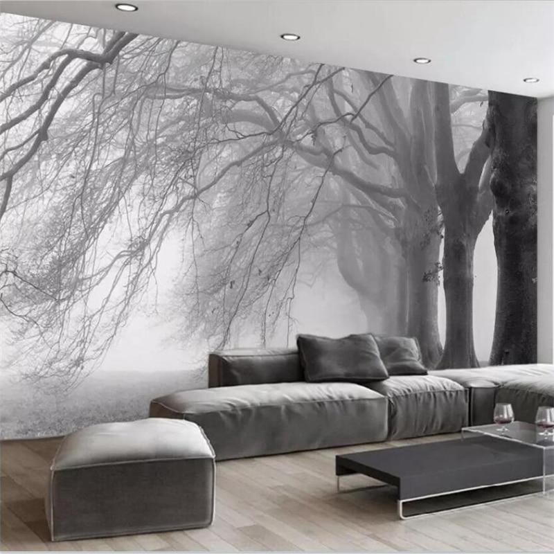 Beibehang Wallpaper Custom Living Room Bedroom Wallpaper