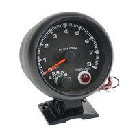 3.75'' LED RPM 12V Auto Car Tachometer Tachoscope Refit Racer Styling Revolution Meter Tacho Gauge for 4/6/8 Cylinder Engine