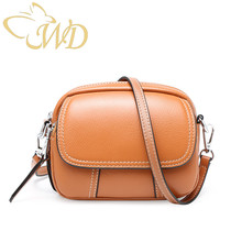 цены Ladies Shoulder bag 2019 Genuine Leather New Style Mini Small Round Bags First Layer of Cow Leather Handbags Crossbody Bags