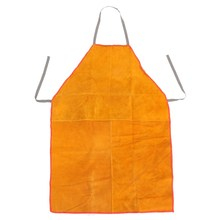 Safurance Welders Welding Apron Chrome Leather Tan Heavy Duty Blacksmith Workplace Safety Safety Clothing Self Protect