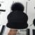 Removível realmente raposa bulbo capilar ms octogonal cap cap cavaleiro equestre chapéu boné de pano modelo pai-filho