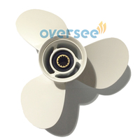Aluminum propeller 69w 45945 00 el 00 11 1 8x13 g for yamaha 40hp e40w outboard.jpg 200x200