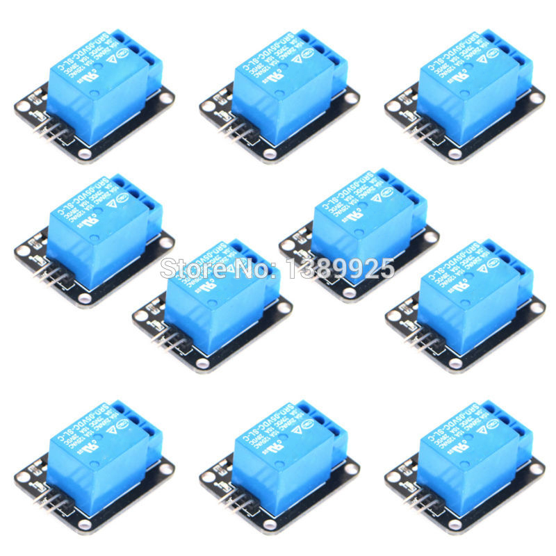 FREE SHIPPING Factory Selling KY-019 100PCS/Lot 1 Channel 5V Relay Module KEYS For SCM Household Appliance Control