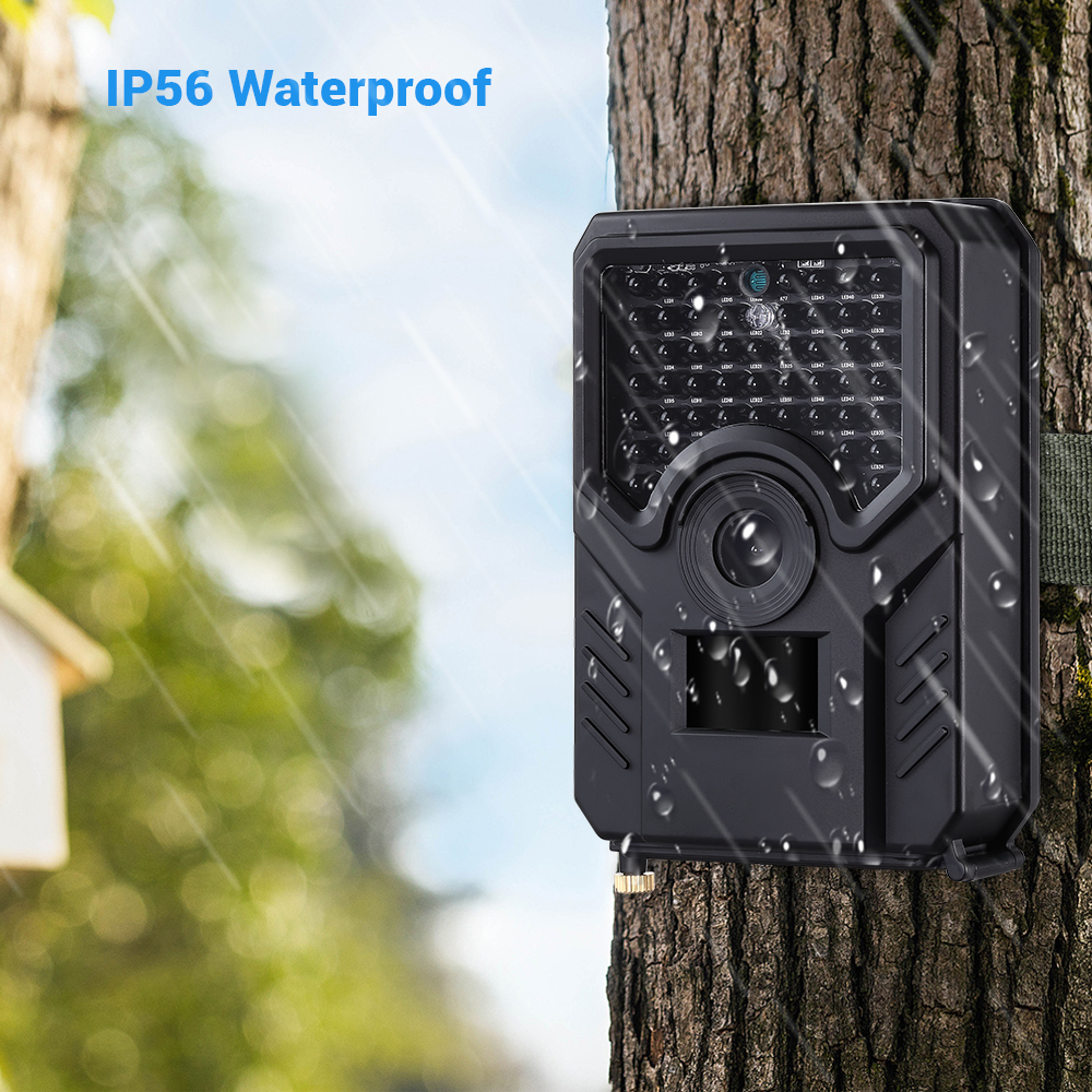 Image 2 - BOBLOV PR200 12MP 49PCS IR Leds Trail Hunting Camera FHD 1920*1080P 25FPS Waterproof Scouting Trail Camera BLACK-in Hunting Cameras from Sports & Entertainment