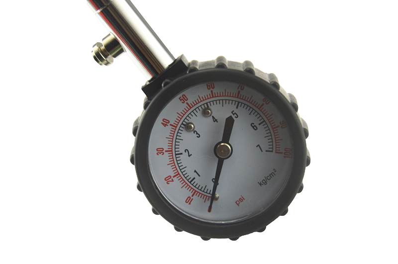 Universal Auto Car Air Tire Pressure Inflator Gauge Car Truck Motorcycle  Flexible Hose Pressure Gauge Dial Meter Vehicle Tester 8