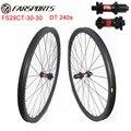 29er горный велосипед wheelsets 30 мм 30 мм построен с DT hub и Sapim aero спицы бескамерные готовые легкие MTB wheelsets