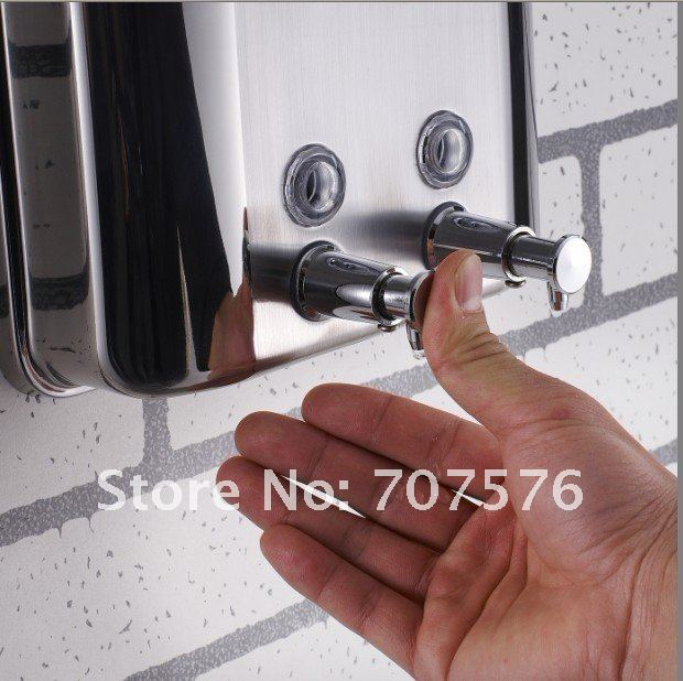 Wholesale+ Free Freight  1500ML Stainless Stell 304 Menual Soap Dispenser  TSDSD-10