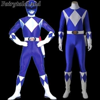 Tricera Ranger cosplay costume Halloween costumes for adult men dark blue Ranger jumpsuit Tricera Ranger Dan costume custom made фото