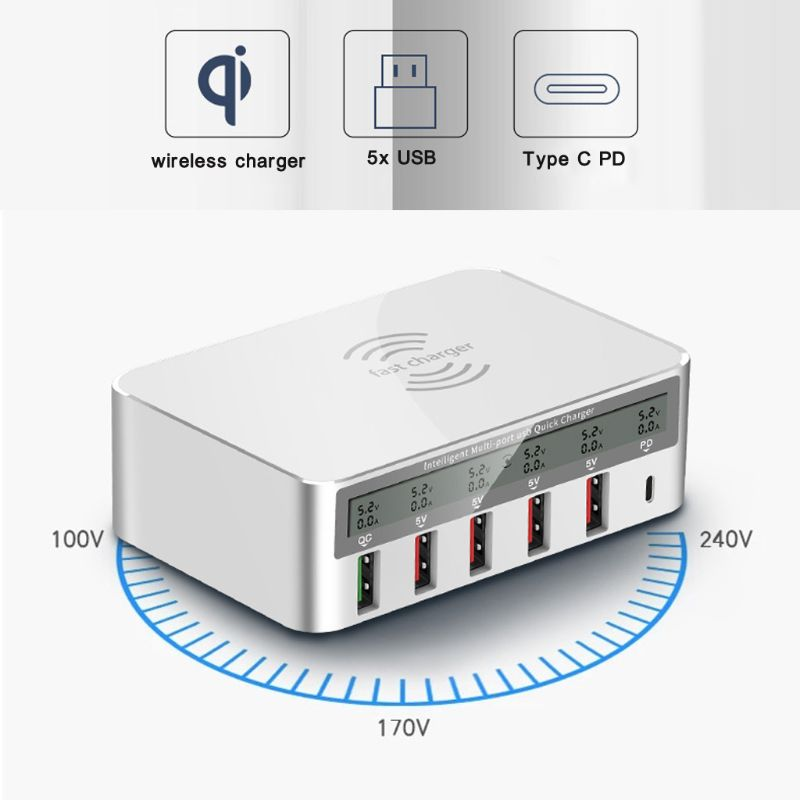 Image 3 - Universal 100W 5x USB QC 3.0