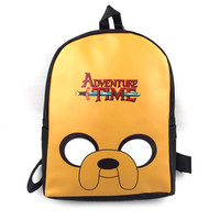 Anime Adventure Time Backpack For Teenage Boys Girls School Bags For Teenagers Mochila Feminine Bagpack