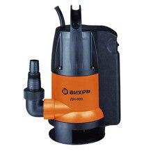 Насос погружной для грязной воды Вихрь ДН-900 (Дренажный, мощность 900 Вт, производительность 15.5 куб.м/час, высота подъема 8 м, диаметр пропускаемых частиц 35 мм, диаметр выходного патрубка 1.5 дюйма)