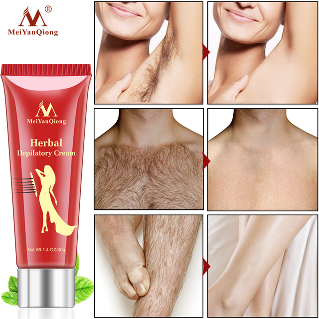 Kobieta mężczyzna ziołowy krem do depilacji usuwania włosów bezbolesne krem do usuwania pachy nogi włosów pielęgnacja ciała golenie i usuwanie włosów