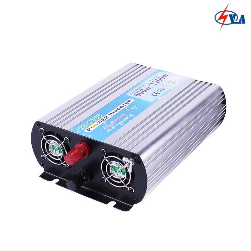 P600 12V 24V dc to ac 110V 220V pure sine wave inverter 600W 1pcs lot sh b17 50w 220v to 110v 110v to 220v