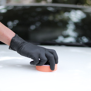 Image 5 - Восковая Подушка аппликатор, принадлежности для ухода за автомобилем, губка с ручкой 6,5*6,5*4 см, инструменты для автодетейлинга