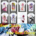 Японский Всемирный God Only Knows аниме футболки аниме Мелового Хлопчатобумажную рубашку Косплей рождественские Костюмы аниме clothing