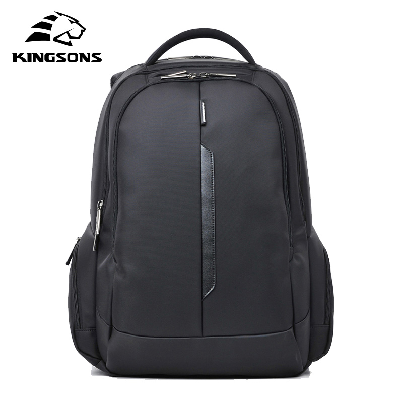 Kingsons Brand Shockproof Laptop Backpack Nylon Waterproof Men Women Computer Notebook Bag 15.6 inch School Bags KS3027W kingsons brand waterproof men women laptop backpack 15 6 inch notebook computer bag korean style school backpacks for boys girl