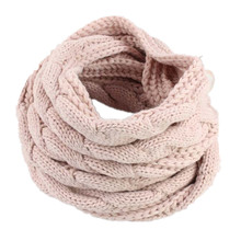 2018 High Quality Unisex Knitted Scarf LIC Womens Winter Scarves Faux Cashmere Warm Luxury Brand Female Shawl Ring Stole