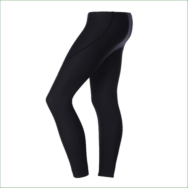 DP01 Men 3MM Neoprene Diving Pants Winter Swimming Rowing Sailing Surfing Wetsuit Trousers Material Keep Warm Black