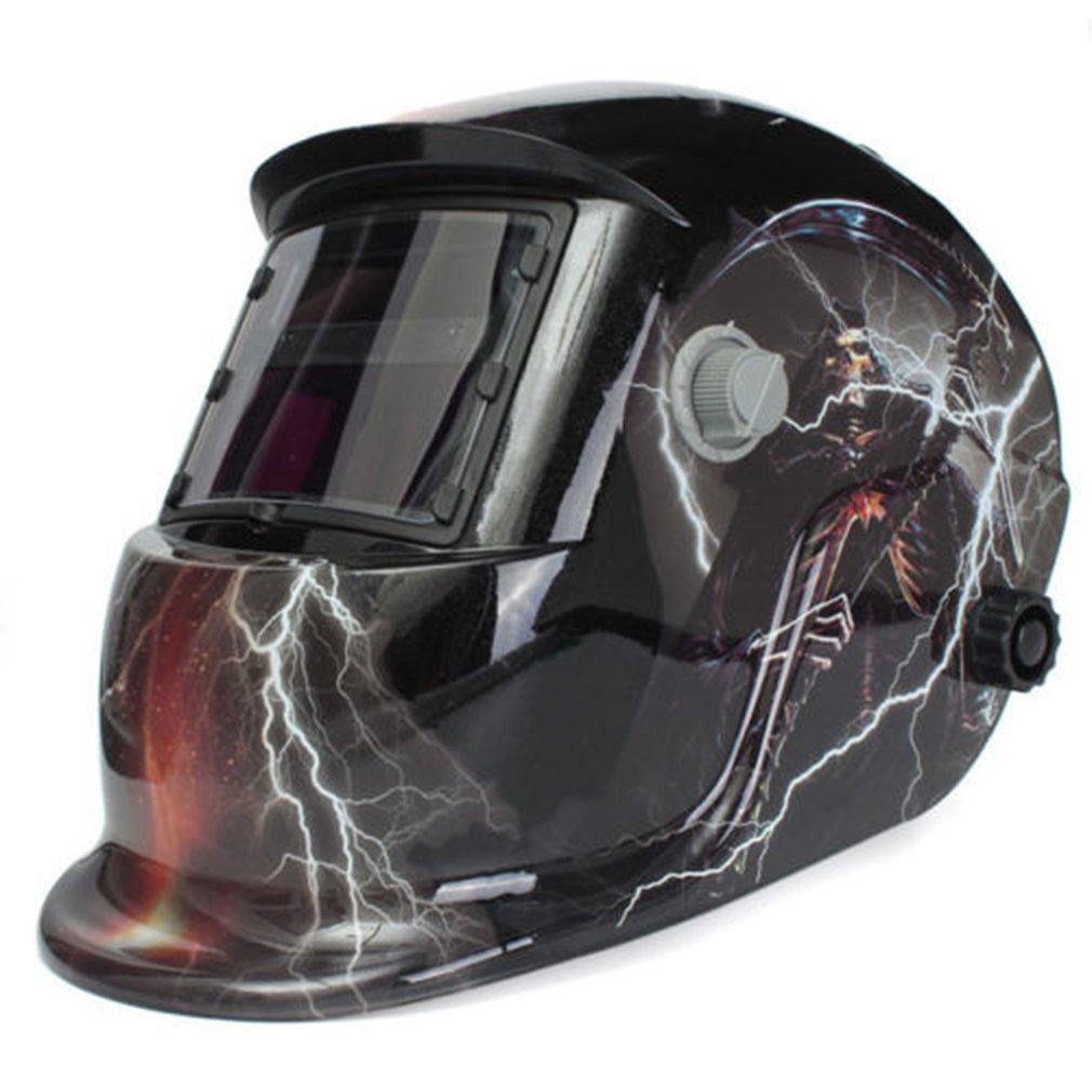 Adjustabl Welding Equipment Solar Pro Auto-Darkening Welder Helment