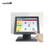 12''touch sreen monitor 4 wire Resistive Touch Screen LCD USB Monitor For cctv/pos