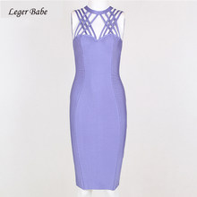 657cabd0942 Leger Babe HL New Fashion Hollow Out Criss Cross Cage Back Sexy Bodycon  Party Dress Summer Clubwear Bandage Dresses Wholesale