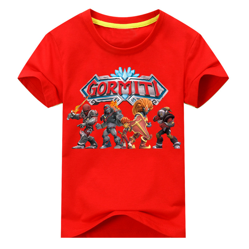 Gormiti Game Tshirts For Kids Summer Clothing Children Short Sleeve Tees Top Costume Boys Cotton T-shirts Girls T Shirts DX187Gormiti Game Tshirts For Kids Summer Clothing Children Short Sleeve Tees Top Costume Boys Cotton T-shirts Girls T Shirts DX187