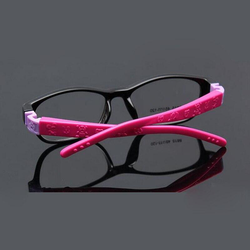 Niños anteojos ópticos tamaño 45mm no tornillo flexible, marco de ...