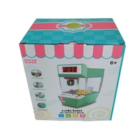 Catcher Alarm Clock Coin Operated Game Crane Machine Candy Doll Grabber Claw Arcade Machine Automatic Toy Kids