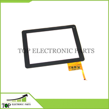 10pcs/lot 9.7 inch capacitive touchscreen for Hapad X10 X2 Handwritten touch screen panel digitizer Glass