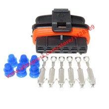 20 комплектов 6 Pin Авто педаль газа акселератора разъем водонепроницаемый кабель для Fiat Hyhundai Kia Smart 1 928 403 202 1928403202