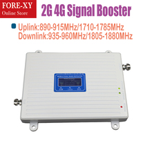 2G 4G Signal Booster GSM 900 1800 cellular signal booster Repeater lte 1800MHz Cell Phone Booster Amplifier signal booster