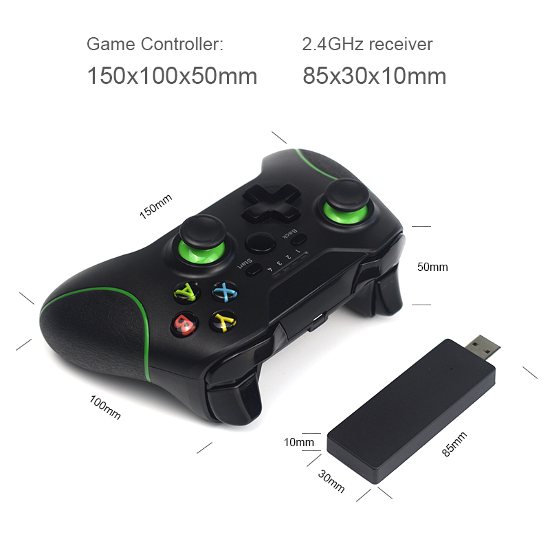 Image 2 - DATA FROG 2.4G Wireless Controller For Xbox One Console For PS3 For Android Phone Gamepads Game Joysticks For PC Win7/8/10-in Gamepads from Consumer Electronics