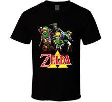 The Legend of Zelda Link T Shirt 100% Cotton Geek Family Top Tee T-Shirt Short Sleeve Summer 2017 Short Sleeve Plus Size