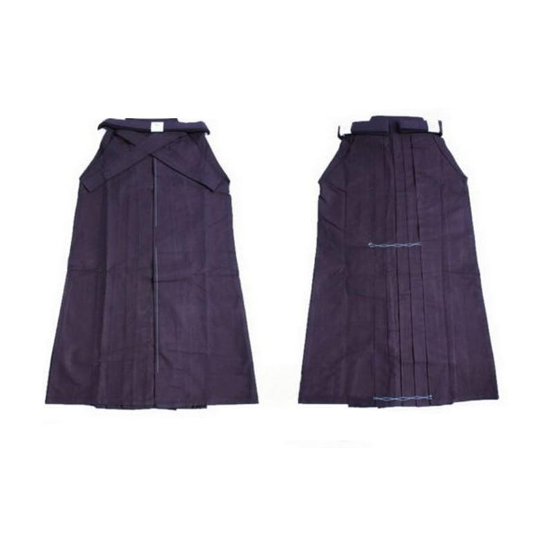 Aikido Women Gi Uniform Kids Hapkido Martial Arts Pants Kendo Karate Hakama Cotton Japanese Samurai Traditional Men Adult