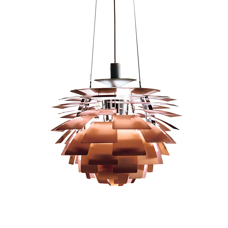 Denmark Design Home Hanging Lights White Copper Pinecone Chandelier Suspension Luminaire Fixture Decor For Kitchen/Dinning Table