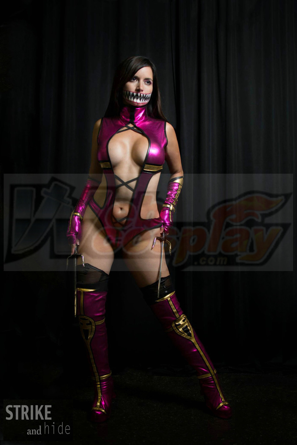 Mortal Kombat Mileena Cosplay Costume