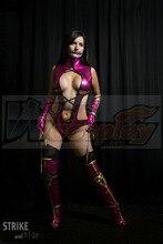 Mortal Kombat Mileena Disfraz de Cosplay