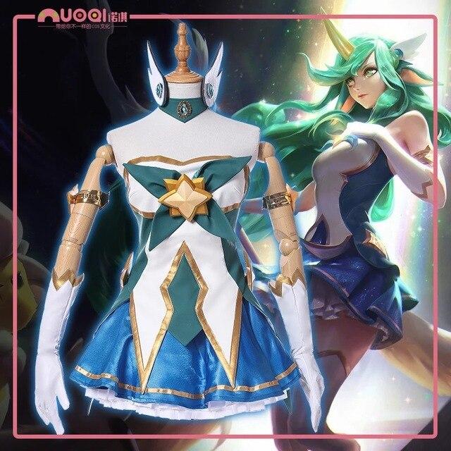 Stock2017 Hot Game Lol Female Soraka New Skin Star -7401