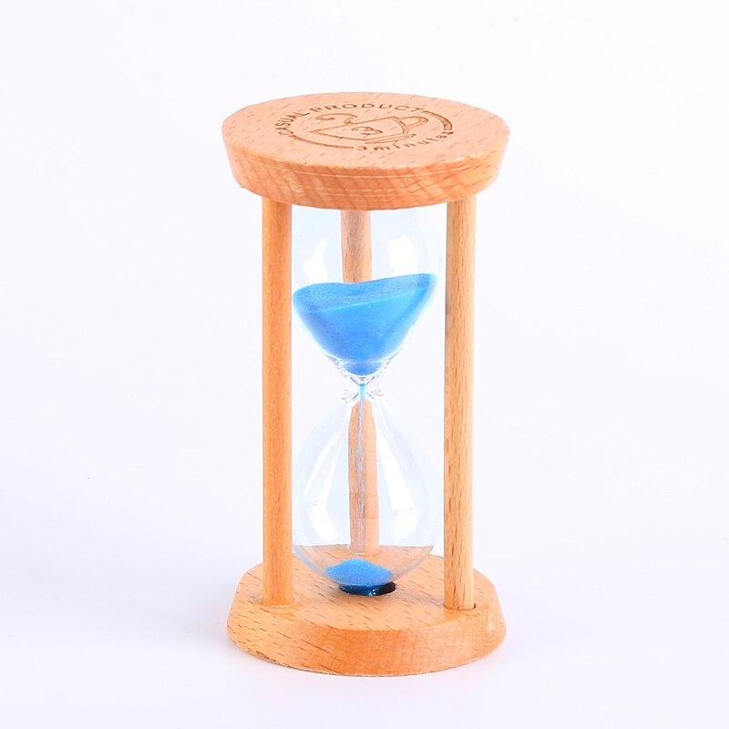 De timer/drie/vijf minuten kinderen falling kerstversiering houten borstel learning - 5