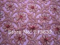 POz107 textile computer woven 3mm Sequin embroidery fabric fashion sequins embroidery embroidery cloth wholesale