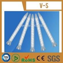 O envio gratuito de Resina Misturador Estático MC06-18 Misturando Bicos para Duo Pacote Epoxies