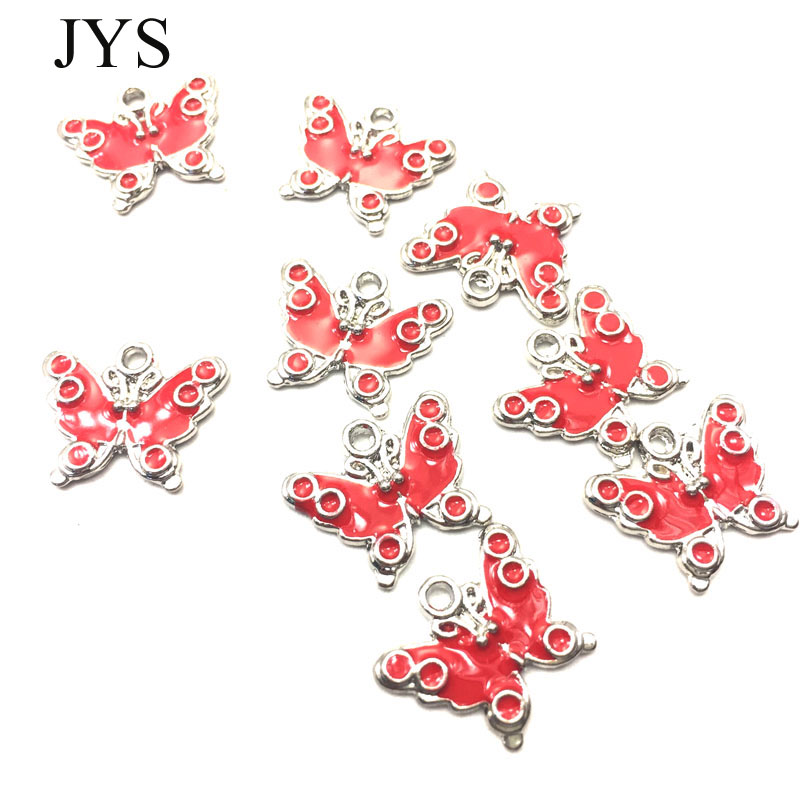 FREE SHIPPING 15*17MM 12PCS/LOT ZINC ALLOY CHARMS METAL CHARMS BUTTERFLY CHAMRS FOR JEWELRY FINDING FOR NECKLACE BRACELET