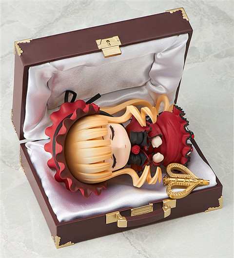 Anime Figure 10CM Rozen Maiden Nendoroid Shinku 364 PVC Action Figure Collectible Model Cartoon Toy Gift 1