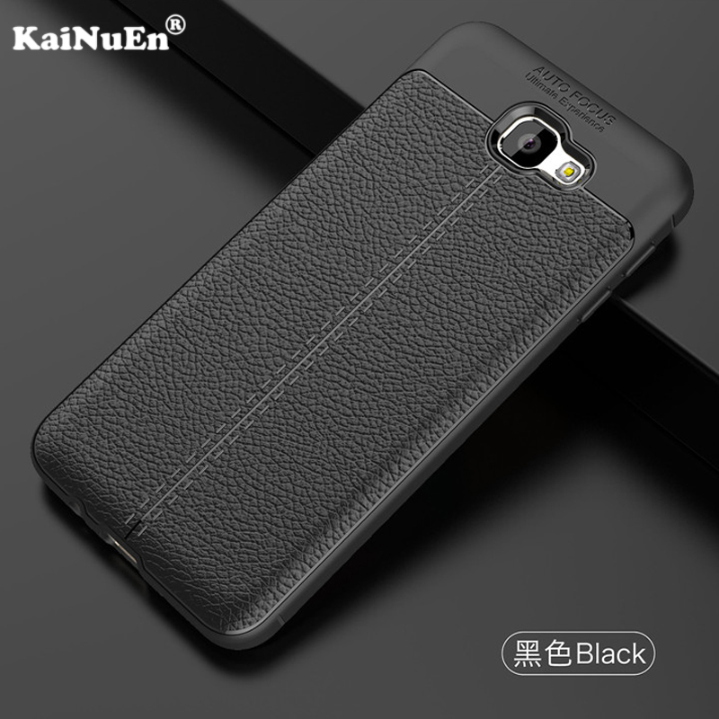 KaiNuEn luxury phone back <font><b>etui</b></font>,coque,cover,case for <font><b>samsung</b></font> galaxy <font><b>j7</b></font> prime on7 <font><b>2016</b></font> silicone silicon Soft tpu leather Pattern image