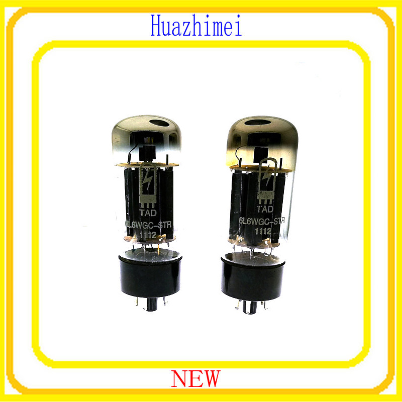 2PCS/LOT tube TAD 6L6GC 6L6 DIY HIFI Replace EL34 6P3 KT88